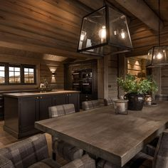 See photos and videos from hashtag. Cabin Homes, Log Homes, Cabin Chic, Welcome To My House, Cabin Kitchens, Beautiful Houses Interior, Lodge Style, My Dream Home, Home Furnishings