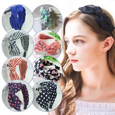 a158931216f2 Bowknot Ribbon Hair Accessory Headband Rabbit Ear Bow Head Band Cute Lady  Women. Serre-tête Oreilles De LapinBandeau ...