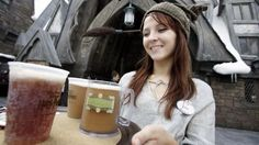 It's official: the recipe for Butterbeer from The Wizarding World of Harry Potter!