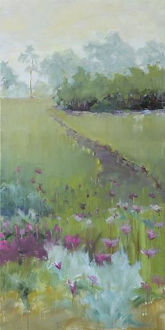 off the path at harbor shores: Leslie Dyas