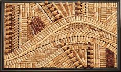 Wine Cork Art amazing! More amazing pieces on her website.