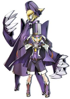 Carl from BlazBlue: Central Fiction