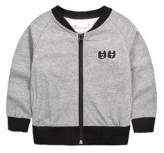 """Yayu Kids Baby Boys Stand Collar Embroidery Letter Kint Sport Jacket gray 3T. 1 or 2 Sizes Up Suggested as ours are Chinese Size. US 3y:Length:16.93""""(43cm) Bust:14.57""""(37cm) Sleeve:15.35""""(39cm). US 4y:Length:18.11""""(46cm) Bust:14.96""""(38cm) Sleeve:16.14""""(41cm). US 5y:Length:19.29""""(49cm) Bust:16.14""""(41cm) Sleeve:17.32""""(44cm). US 6y:Length:20.08""""(51cm) Bust:16.93""""(43cm) Sleeve:17.72""""(45cm)."""