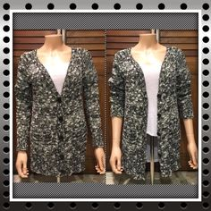 Button Up Cardigan Comfy cozy knit cardigan with V-neckline, long sleeves, button up to mid bust, ribbed trim, pocket on each side. Juniors size large. Great pre-loved condition.  ✅ASK QUESTIONS ✅Bundle ✅Offers ❌NO Trades ❌NO Off-site Transactions Rue 21 Sweaters Cardigans