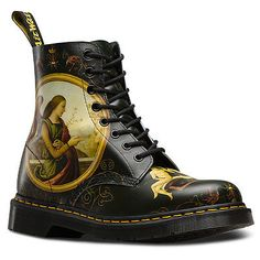 Woman's Dr Martens 1460 Di Paolo Pascal Renaissance Leather Boots in Sizes: 3-9