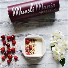 muesli_mania_Літо - прекрасна пора щоб звернути увагу на своє здоров'я. Багато сонця, тепла та безліч корисних ягід у нашому Berry Boom 🍒 #mueslimania #berryboom #мюсліманія #гранола #мюслі
