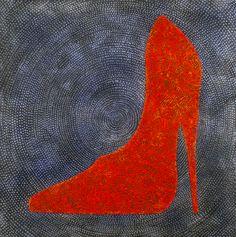 "Saatchi Art Artist Gian Luigi Delpin; Painting, ""shoe"" #art"