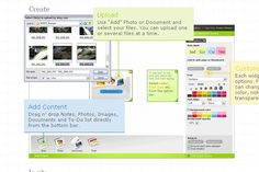 Stixy, the amazing online bulletin board site that works perfect in the classroom. Add all sorts of media including images, sticky notes, calendar events and even documents. Free.