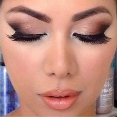 #smoky #eye-makeup for #prom