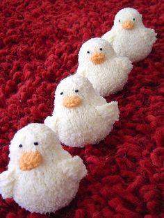 Free Knitting Pattern –Easter Peeps