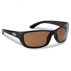 8c9317bb4b0 Cay Sal Matte Black Amber with Shatterproof RhinoLenses Polarized Fishing  Sunglasses