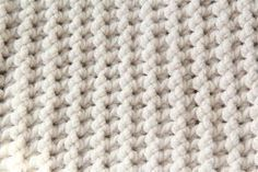 Gehaakt baby dekentje met stoere structuur (gratis patroon)