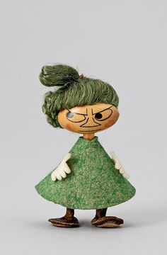 Nordic Thoughts: #Moomin #Trolls made by Atelier Fauni - Lilla My 1960s