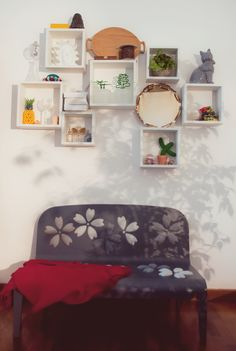 Flowberty bench at alessandra Baldereschi's Home-Studio