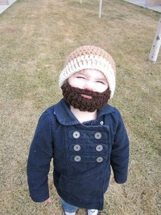 my new favorite thing to knit.....lil beards!