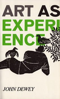 Art as Experience - John Dewey - 1979 Paragon Books Cover design by Robert Sullivan John Dewey, Best Book Covers, Vintage Book Covers, Vintage Books, Cover Books, Buch Design, E Design, Print Design, Graphic Design