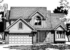 Elevation of Traditional   House Plan 97997