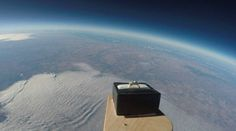 An out of this world marriage proposal! Man asks his girlfriend to marry him by launching a ring into the edge of space