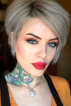 Short Hairstyles With Side Bangs picture 1