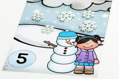 Snow Counting Mats