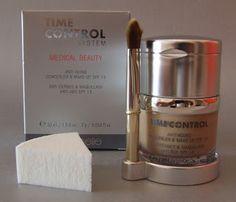 El blog cosmetica en acción analiza con sumo detalle la base de maquillaje con corrector de imperfecciones, Time Control de être belle.