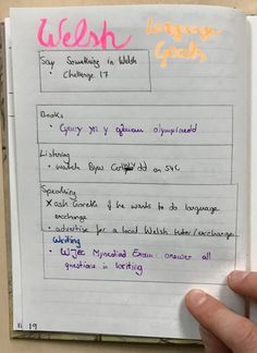 Snapshot of my own goal setting spread from the bullet journal Bullet Journal Goals Page, Bullet Journal October, Bullet Journal Font, Bullet Journal Printables, Bullet Journal Themes, Bullet Journal Inspiration, Welsh Language, Difficult Relationship, Learning Goals