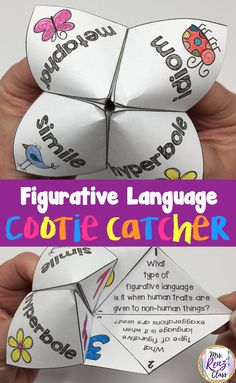 10 tips to improve your poetry unit, including figurative language cootie catches! l Poetry Unit l Figurative Language l Cootie Catcher l Poetry Month l Teaching Poetry, Teaching Language Arts, Language Lessons, Language Activities, Teaching Reading, Speech And Language, Language Arts Games, Teaching Literature, Learning