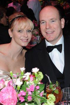 Their Serene Highnesses Prince Albert II and Princess Charlene of Monaco