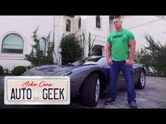 Pedal to the metal in John Cena's RARE Ford GT - John Cena: Auto Geek - YouTube