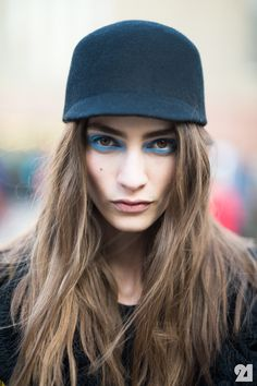 Marine Deleeuw French Model after Top Shop Unique #LFW