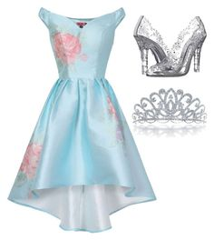 """Modern day Cinderella"" by paksr on Polyvore featuring Chi Chi, Dolce&Gabbana, Bling Jewelry and modern"