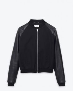 Saint Laurent Paris - Classic Baseball Jacket
