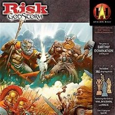 RISK Godstorm - one of my favorite versions.