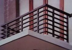 Horizontal Porch Railing Downtown Ornamental Iron