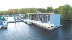 Schwimmcontainerhaus