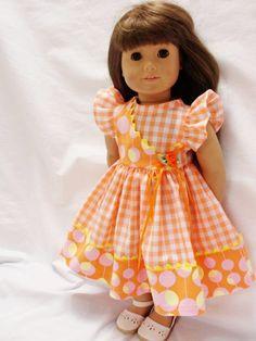 Cute Wrap - Marilynn Dress - (45) Dresses - Doll Clothes by Jane Fulton