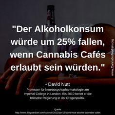 Passend zum Wochenende: Was haltet ihr von diesem Zitat, hat David Nutt damit recht?