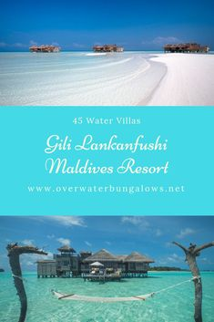 Maldives Water Villa, Maldives Resort, Gili Lankanfushi, Beach Hacks, Overwater Bungalows, Resort Villa, Island Nations, Solo Travel, Resorts