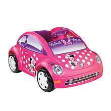 Power Wheels Fisher-Price 6 Volt Volkswagon Ride On - Minnie Mouse  http://www.toysrus.com/buy/bikes-scooters-ride-ons/powered-riding-toys/powered-riding-toys/power-wheels-fisher-price-6-volt-volkswagon-ride-on-minnie-mouse-x9218-13089244