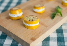Squash and Ricotta 'Sandwiches'...also good with goat cheese!