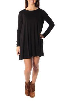 Black Pocket Dress - main