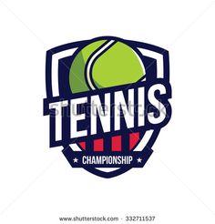 Tennis Logo, American Logo Sport