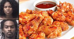 Sh*t Escalated Quickly After This Couple Were Given The Wrong Chicken Wings -             Being given the wrong food after ordering at a restaurant is not fun, at all.    But you know, mistakes do happen and you can always just...