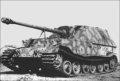 The Jagdpanzer Ferdinand #WorldWar2 #Tanks