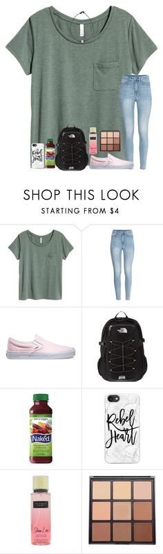 """thursdays"" by ctrygrl1999 ❤ liked on Polyvore featuring H&M, Vans, The North Face, Casetify, Victoria's Secret and Morphe"
