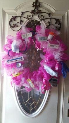 Nurse retirement wreath idea