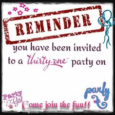 Thirty One Gifts Reminder Thirty One Hostess, Thirty One Games, Thirty One Party, My Thirty One, 31 Party, Host A Party, Thirty One Purses, Thirty One Business, Thirty One Consultant