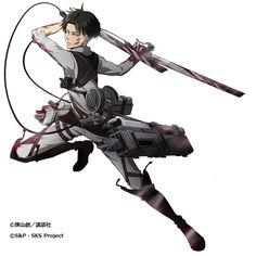 "Hangeki no Tsubasa releases Levi's ""Strength of Humanity"" class! (Source)"