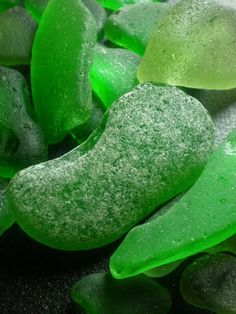 Collecting sea glass is good for the soul, time at the beach looking for beautiful things...