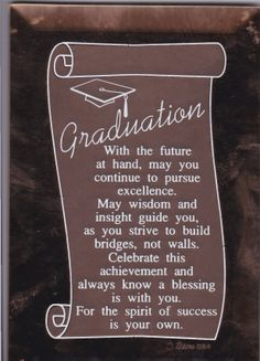 graduation celebration quotes graduation sayings High school graduation Poems Graduation Card Sayings, Graduation Prayers, High School Graduation Quotes, Graduation Message, Graduation Cards Handmade, Graduation Scrapbook, Graduation Crafts, Graduation Party Planning, Graduation Speech